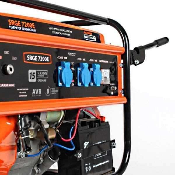 Patriot power srge 7200e генератор бензиновый сварочный аппарат онлайнтрейд