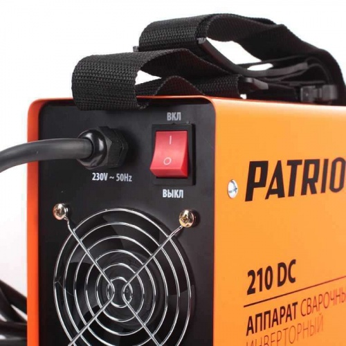 Patriot 210DC MMA-Tehinstrument